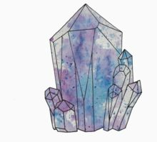 Graphic Galaxy Gem, Crystal Illustration Kids Clothes