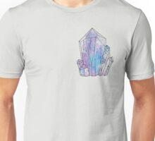 Graphic Galaxy Gem, Crystal Illustration Unisex T-Shirt
