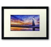 Talacre Lighthouse Framed Print