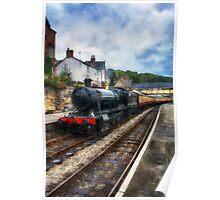 Steam Train Journey Poster