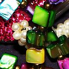 multicolored jewels  by Sue Hays