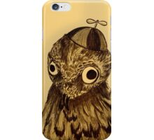 Potoo Who? iPhone Case/Skin