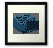 LEGO: BRICKCEPTION Framed Print