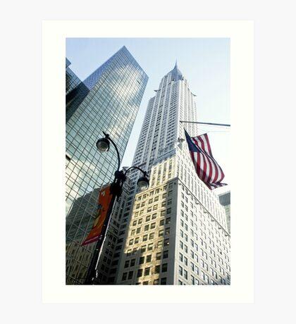 Chrysler Building New York Art Print
