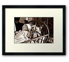 Dolls and Things Framed Print