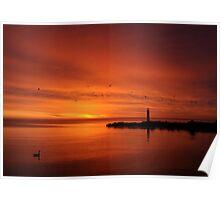 Niagara Sunrise - Niagara Ontario, Canada Poster