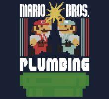 Mario Bros. Plumbing  by Derrick Aviles