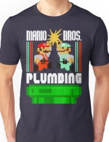 Mario Bros. Plumbing  Unisex T-Shirt