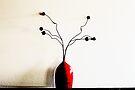 Red Vase by Evita