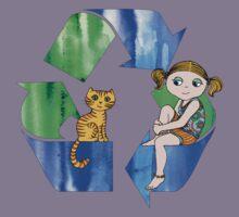 Live Like You Love the Planet Kids Tee