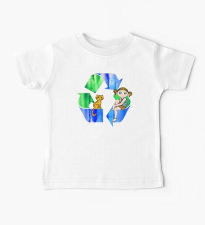Live Like You Love the Planet Baby Tee