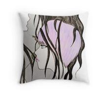 Ultraviolate Throw Pillow