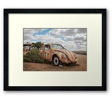 Beetle Makeover Framed Print