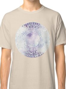 Rounds and Triangles - Watercolor Classic T-Shirt