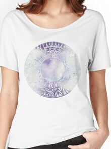 Rounds and Triangles - Watercolor Women's Relaxed Fit T-Shirt