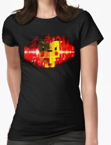 Pika Concert Womens Fitted T-Shirt