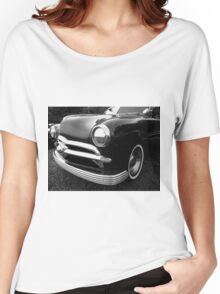 Vintage Automobile - 50's Mercury - Studebaker - Ford  Women's Relaxed Fit T-Shirt