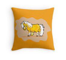 Mini Pony  Throw Pillow