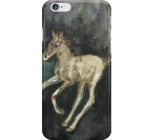 galloping foal iPhone Case/Skin