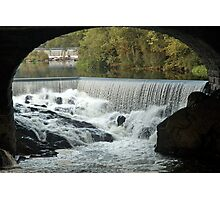 Double Falls Photographic Print