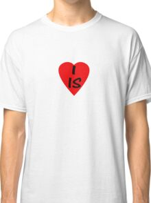 I Love Iceland - Country Code IS T-Shirt & Sticker Classic T-Shirt