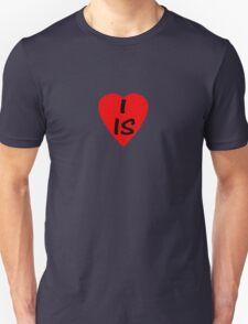 I Love Iceland - Country Code IS T-Shirt & Sticker Unisex T-Shirt