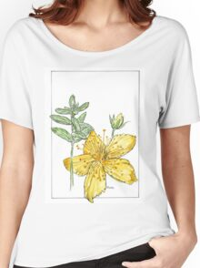 Hypericum perforatum - Botanical Women's Relaxed Fit T-Shirt