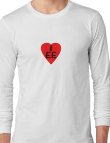 I Love Estonia - Country Code EE T-Shirt & Sticker Long Sleeve T-Shirt