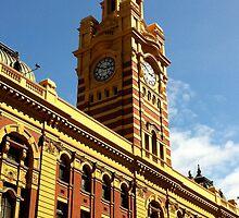 Flinders Street Clocktower by Dean Osborne