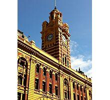 Flinders Street Clocktower Photographic Print