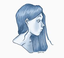 blue profile Unisex T-Shirt