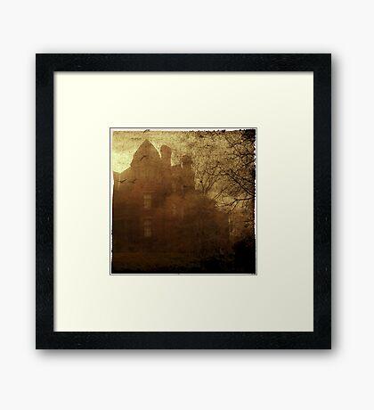 Sinister House Framed Print