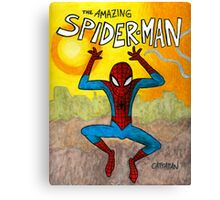 Spidey swings at sunset Canvas Print