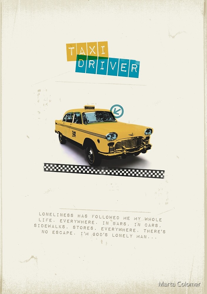 Taxi Driver by Marta Colomer
