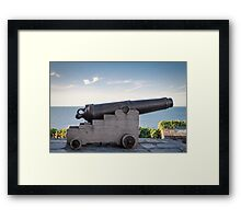 Sea Defence Framed Print