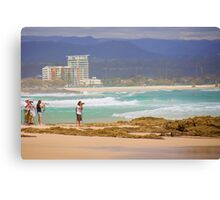 Surf snappers Canvas Print
