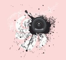 Music Poster with Audio Speaker 4 Kids Clothes
