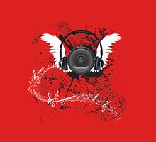 Music Poster with Audio Speaker 5 Unisex T-Shirt