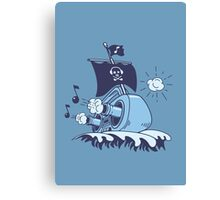 MUSICAL SHIP Canvas Print