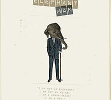 Elephant man by Marta Colomer