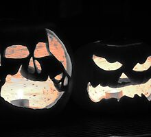 2 Jack-O-Lanterns by Ryan Harvey