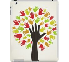 Hand a tree2 iPad Case/Skin