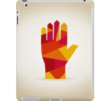Hand abstraction iPad Case/Skin