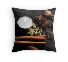 The Scent of A Kitchen Throw Pillow