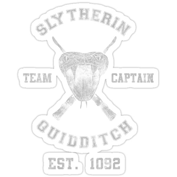 Slytherin Quidditch Athletic Tee Harry Potter Shirt by spacemonkeydr