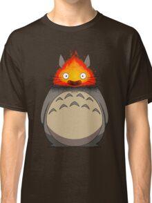 Totoro Meets Calcifer Classic T-Shirt