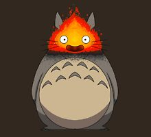Totoro Meets Calcifer T-Shirt