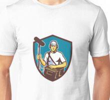 Soundman Film Crew Microphone Crest Retro Unisex T-Shirt