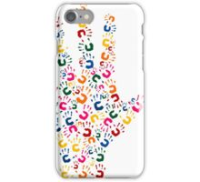 Hand brush iPhone Case/Skin
