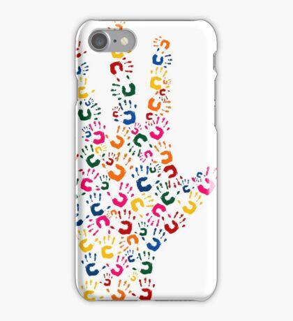 Hand brush iPhone Case/Skin
